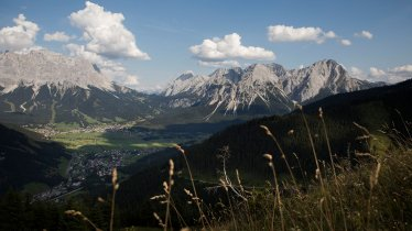 Widok na góy, © Tiroler Zugspitz Arena