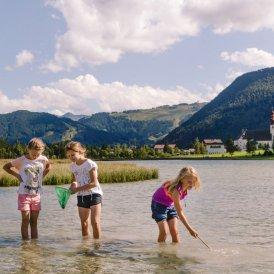 Rodzinny urlop nad jeziorem Pillersee, © Tirol Werbung/Robert Pupeter