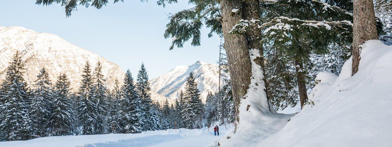 Winterwanderung Karwendeltäler, © ÖW/Robert Maybach