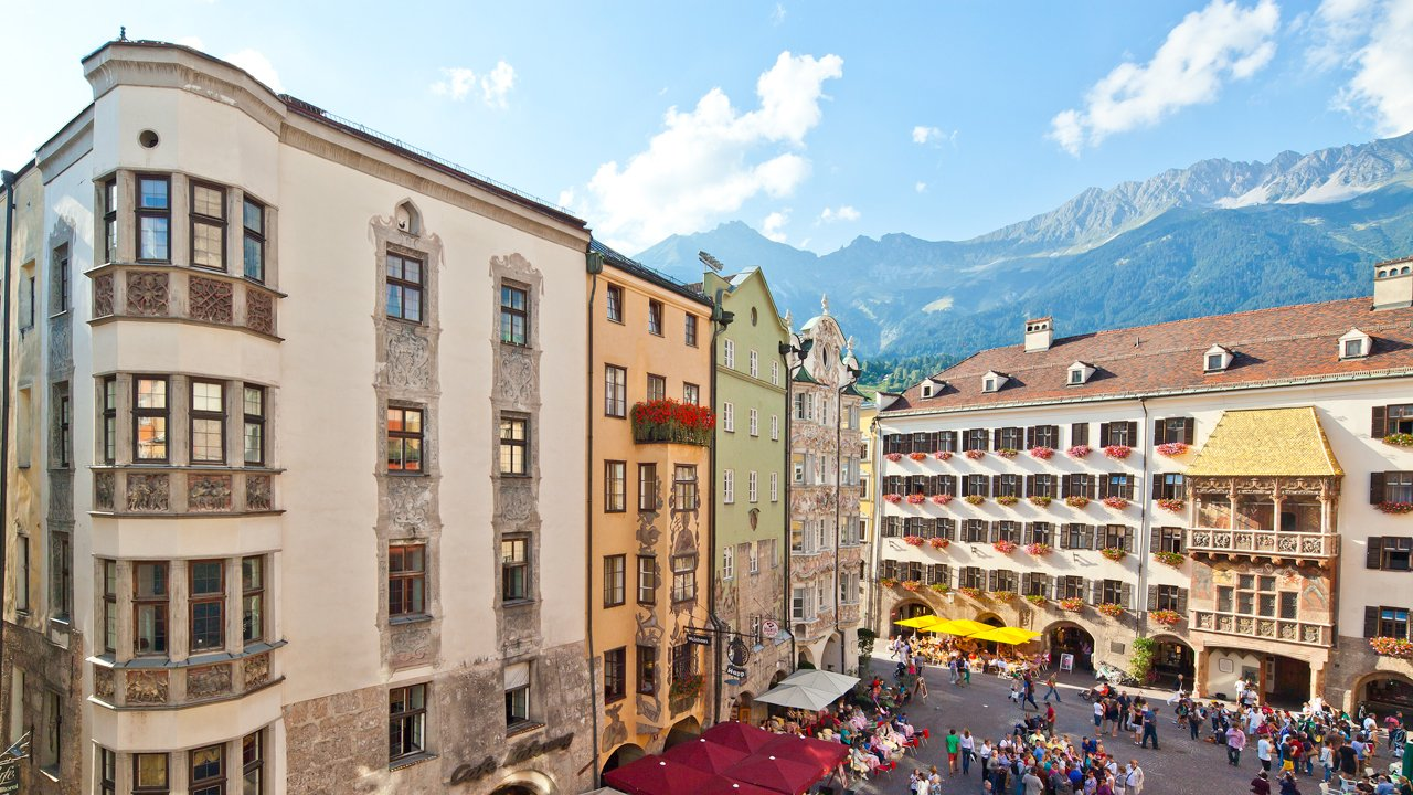 Starówka w Innsbrucku, © TVB Innsbruck / Christof Lackner