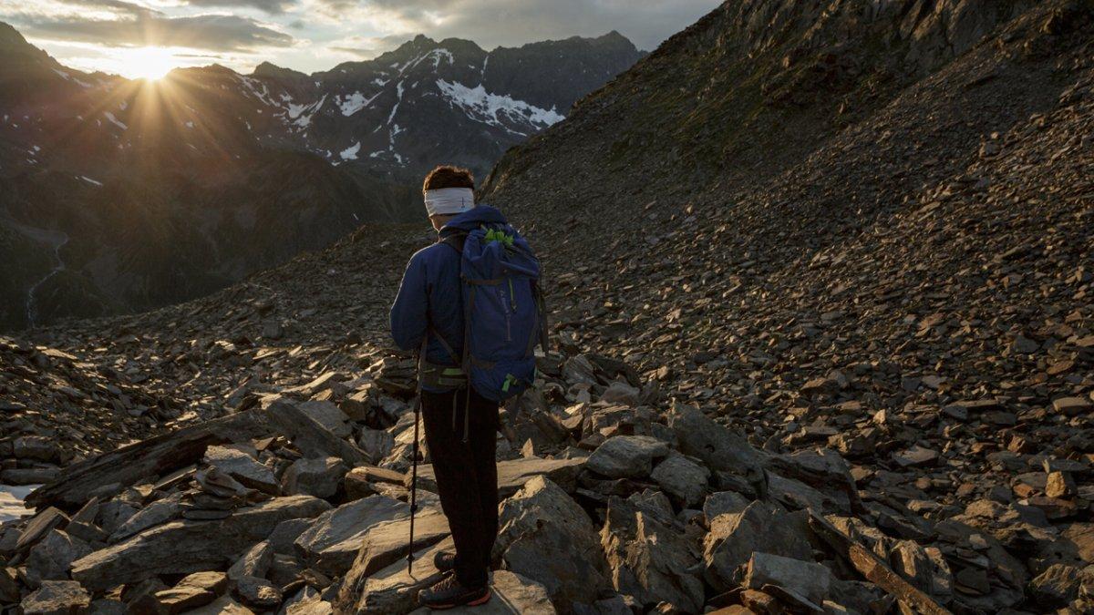 Szlak prowadzi w terenie wysoko-alpejskim