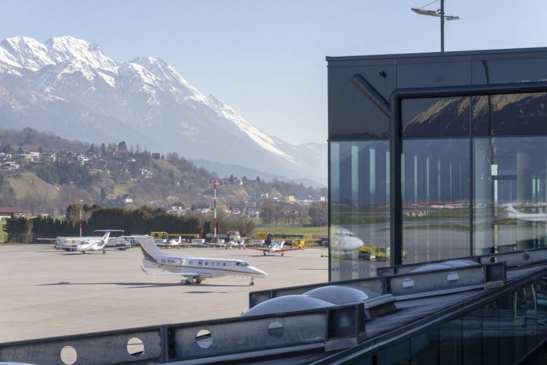 Start i lądowanie w Innsbrucku wymagają od pilotów dodatkowych umiejętności. , © Tirol Werbung/Angela Fuchs