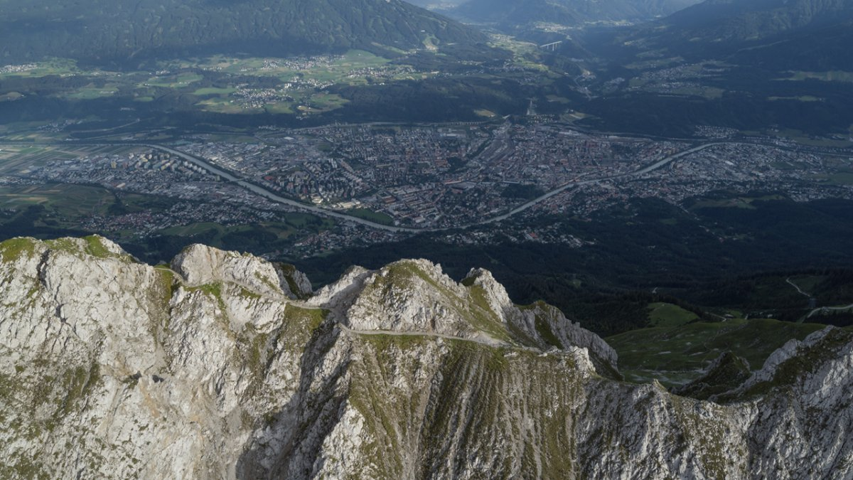 Goetheweg powyżej Innsbrucka