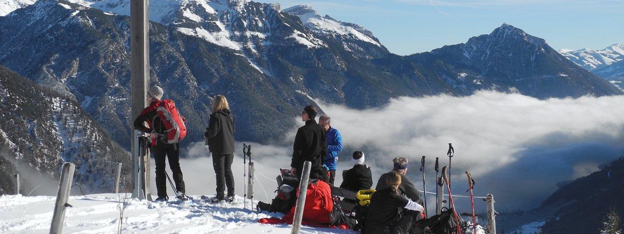 Schneeschuhwanderung Feilalm Feilkopf, Pertisau, © Foto Athesia Tappeiner