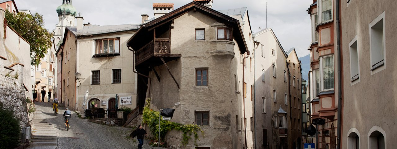 Starówka w Hall in Tirol, © Verena Kathrein