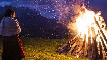 Noc świętojańska na górze Hartkaiser to wspaniałe widowisko, © Daniel Reiter / Peter v. Felbert