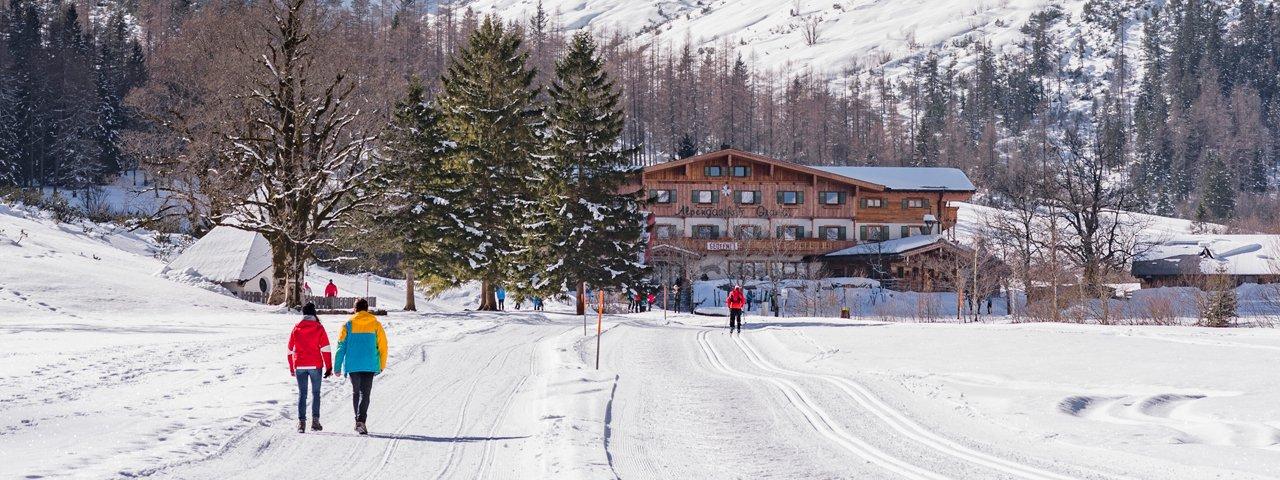 Winterwanderung zur Gramaialm, © Achensee Tourismus