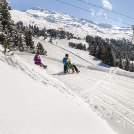 Sanki w Tyrolu, © Tirol Werbung/Robert Pupeter