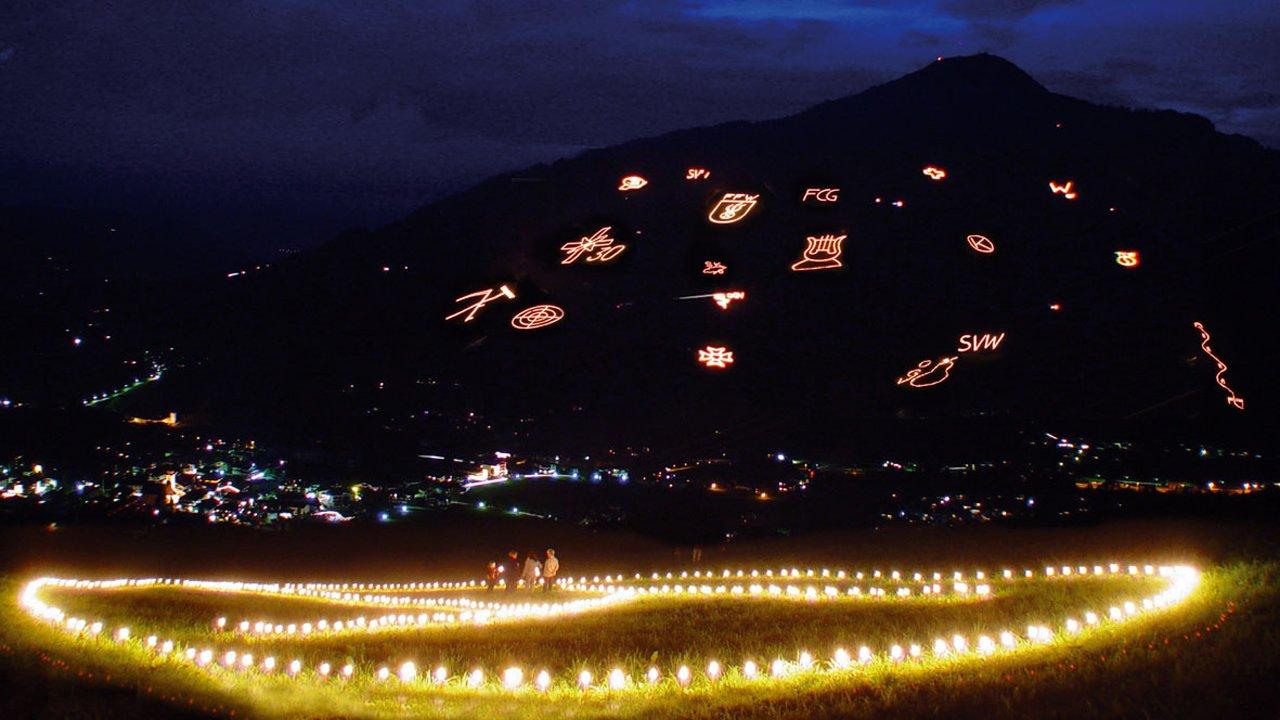 Ogniska świętojańskie w Brixental, © WKBT