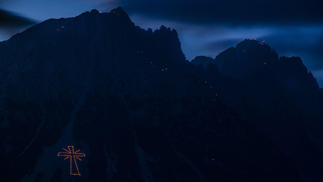 Ogniska świętojańskie w Wilder Kaiser, © TVB Wilder Kaiser
